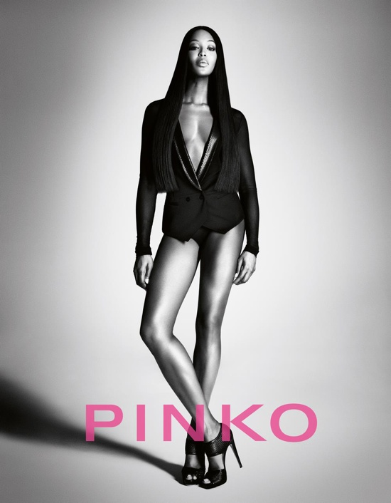 Pinko Spring 2012 Ad Campaign – Naomi Campbell 8b66dee75b6