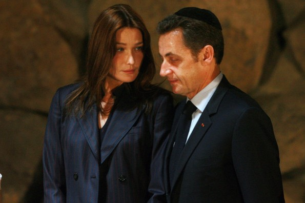 Sarkozy+Bruni+Visit+Yad+Vashem+dOxZgNltEMgl