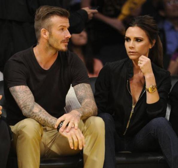 Beckham, soggiorno natalizio interrotto causa maltempo alle Maldive