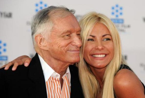 Hugh Hefner,Playboy,Crystal Harris