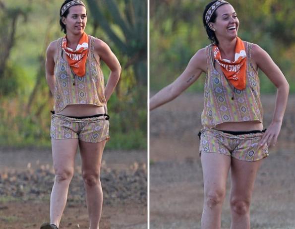 Katy Perry, regina di bellezza 2012 in vacanza fuori forma