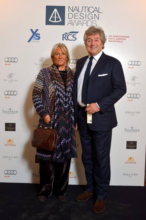 CENA DI GALA DEL NAUTICAL DESIGN AWARDS ALL' HOTEL SEVEN STARS G