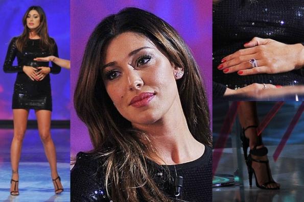Belen Rodriguez ha partecipato alla trasmissione di Daria Bignardi Le Invasioni Barbariche