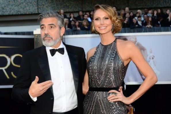 George Clooney e Stacy Keibler, presunta crisi di coppia