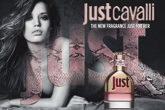 Georgia May Jagger, testimonial del nuovo profumo Just Cavalli For Her