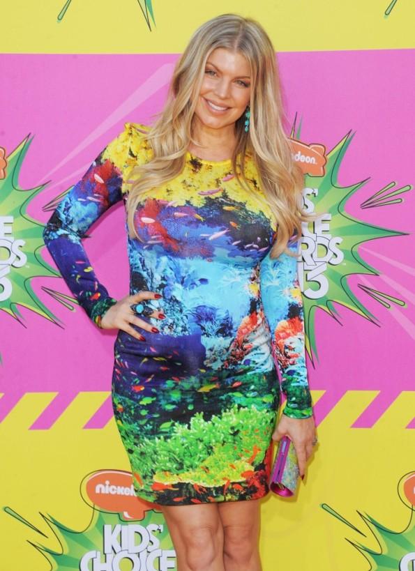 Stacy Ann Ferguson, Power Bag di Swarosvski in occasione della 26a edizione dell'Annual Kids Choice Awards1