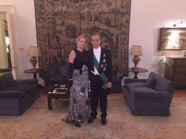 Ambasciatore Pasquale Terracciano e consorte Karen Lawrence Terracciano-w900-h700